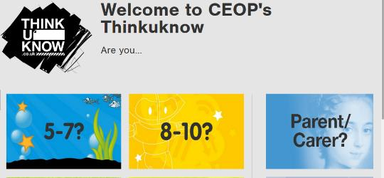 CEOP Thinkuknow image